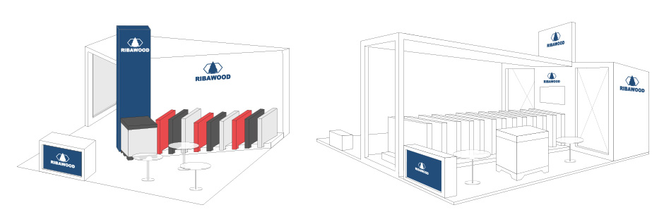 feria internacional diseño stand SinPalabras